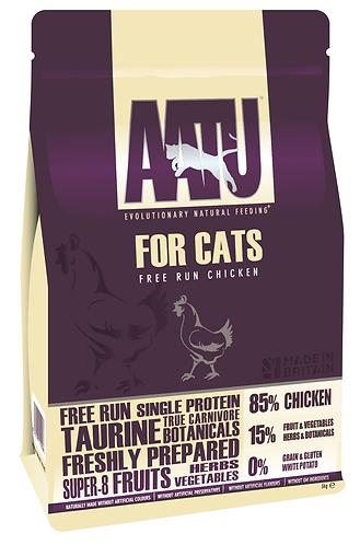 AATU 85/15 Free Run Chicken Dry Cat Food 3kg