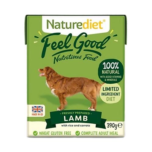 Naturediet Feel Good Adult Lamb - 18 x 390g
