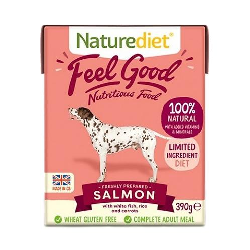 Naturediet Feel Good Adult Salmon - 18 x 390g