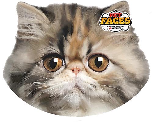 Pet Faces Soft Feel Novelty Cushion - Persian Cat