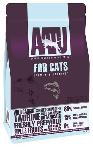 AATU 85/15 Salmon & Herring Dry Cat Food 3kg