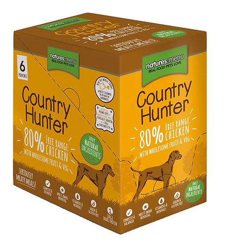 Country Hunter Wet Dog Food - Chicken (36 x 150g Pouches)