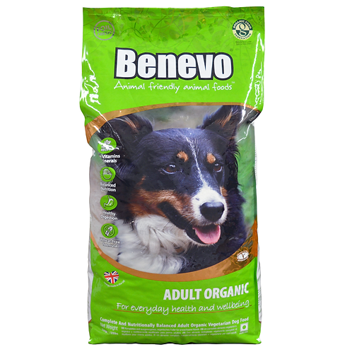 Benevo Complete Vegetarian Dog Adult Organic 15kg