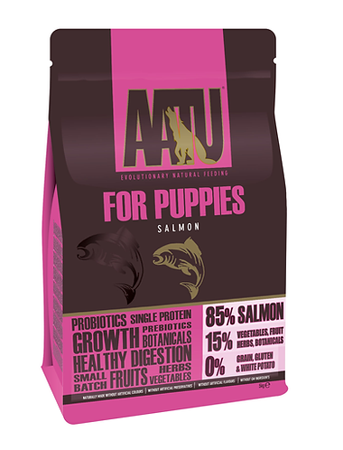 AATU 85/15 Puppy Salmon Dry Food 5kg