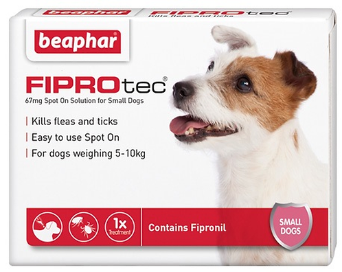 Fiprotec Flea and Tick Treatment for Small Dogs