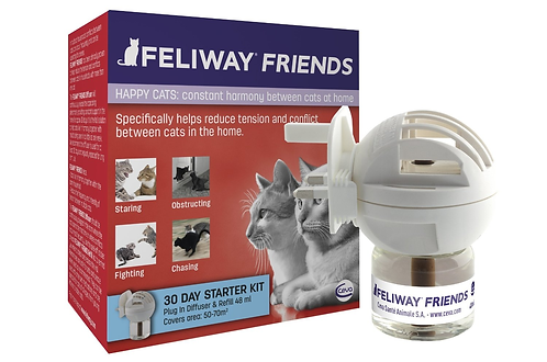 Feliway Friends Diffuser Plug-In Starter Kit