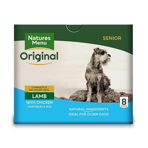 Natures Menu Dog Pouches - Senior Lamb & Chicken  8x300g