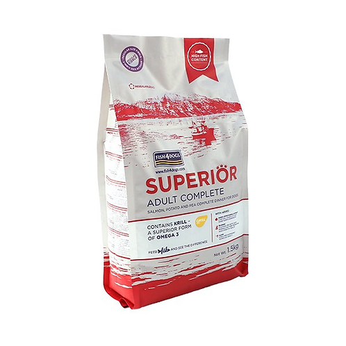 Fish4Dogs Superior Adult Regular Bite 12kg