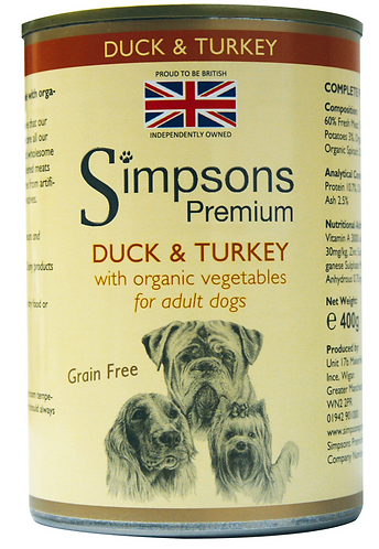 Simpsons Duck and Turkey Tins - 6 Pack