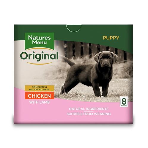Natures Menu Dog Pouches - Puppy/Junior Chicken & Lamb 8x300g