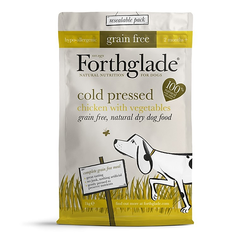 Forthglade Cold Pressed Grain Free Dog Food Chicken 6kg