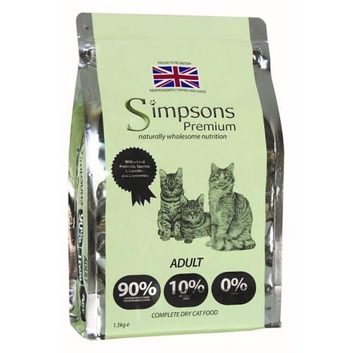 Simpsons Adult 90/10 Dry Food 1.5kg