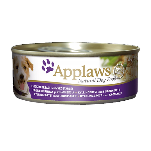 Applaws Dog Chicken Breast with Vegetables - 12x156g Tins