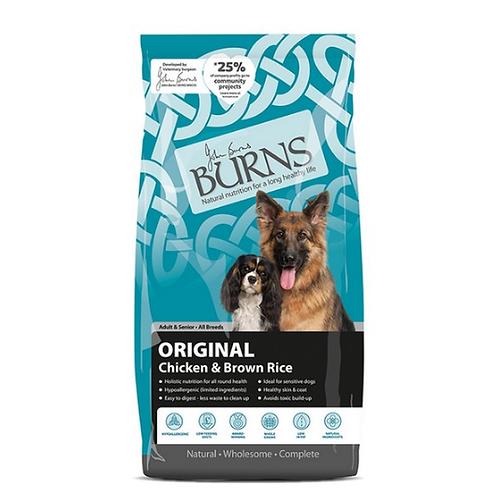 Burns Adult Chicken Complete Dry Food 12kg