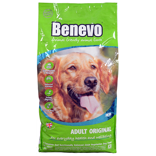 Benevo Complete Vegetarian Dog Adult Original 15kg