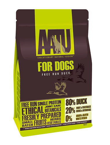 AATU 80/20 Duck Dry Dog Food 10kg