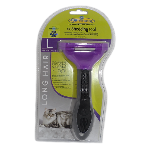 FURminator Cat deShedding Tool - Large Cat