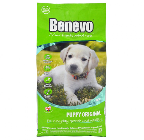 Benevo Complete Vegetarian Original Puppy Food 10kg