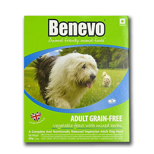 Benevo Adult Grain-Free Vegetable Feast With Mixed Herbs - 10 x 395g Trays