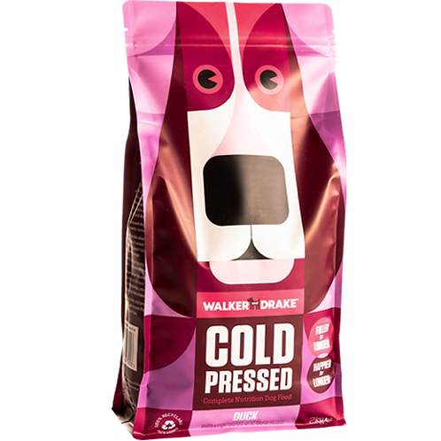 Walker and Drake Cold Pressed Dry Dog Food - Duck 10kg