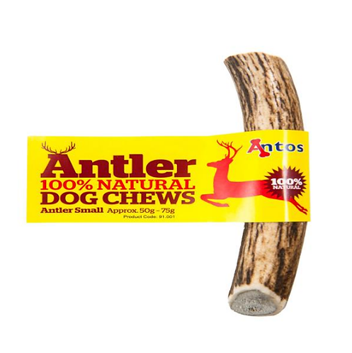 Antos Antlers Natural Dog Chews - Small - Pack of 3