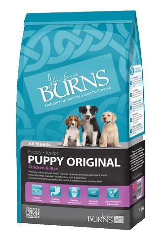 Burns Puppy Chicken Complete Dry Food 12kg