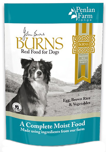 Burns Penlan Farm Wet Dog Food - Egg