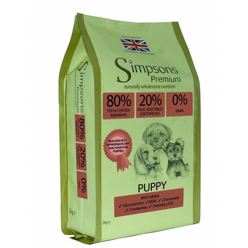Simpsons 80/20 Puppy Fish & Chicken 12kg