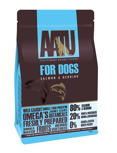 AATU 80/20 Salmon & Herring Dry Dog Food 5kg