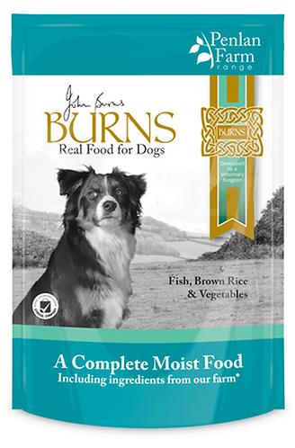 Burns Penlan Farm Wet Dog Food - Fish