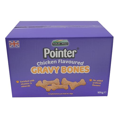 Pointer Chicken Flavoured Gravy Bones - 10kg