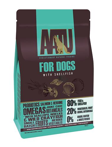 AATU 80/20 Shellfish Dry Dog Food 10kg
