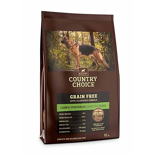 Gelert Country Choice Grain Free Lamb 12kg