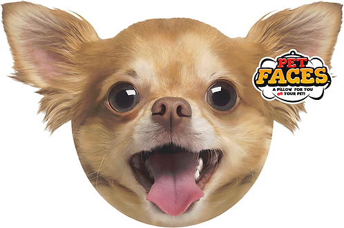 Pet Faces Soft Feel Novelty Cushion - Chihuahua