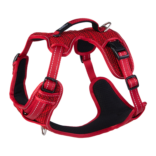 Rogz Utility Explore Harness - Red