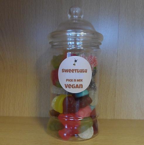 SweetLulu Vegan Pick 'n' Mix In A Tall Jar 1Kg