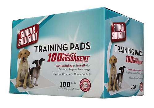 Simple Solution Puppy Training Pads - 100 pack