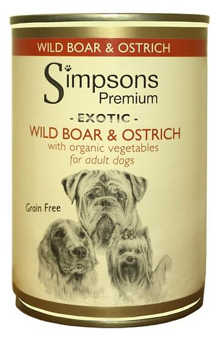 Simpsons Wild Boar and Ostrich Tins - 6 Pack