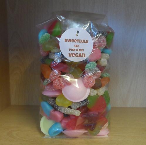 SweetLulu Vegan Pick 'n' Mix In A Bag 1Kg