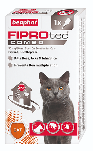 FIPROtec COMBO Spot On Solution for Cats