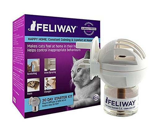 Feliway Pheromone Diffuser Plug-In Starter Kit