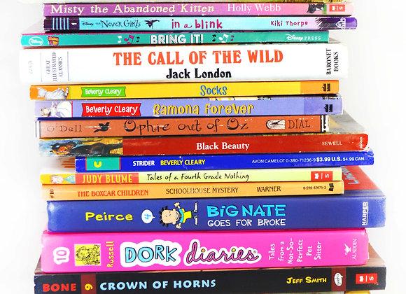Set of Books for Grades 3-4