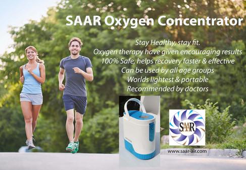 SAAR Oxygen Concentrator