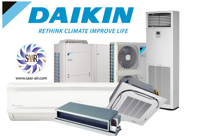 Daikin range of Air Conditioning