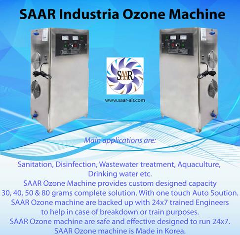 SAAR Industrial Ozone Machine