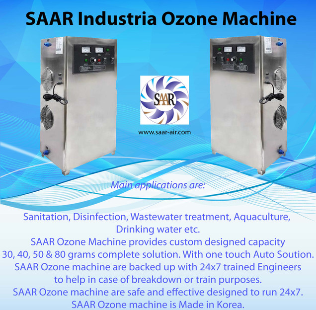 SAAR Industrial Ozone Machine