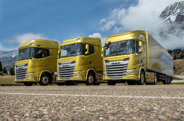 1. The New Generation DAF trucks 2021. F