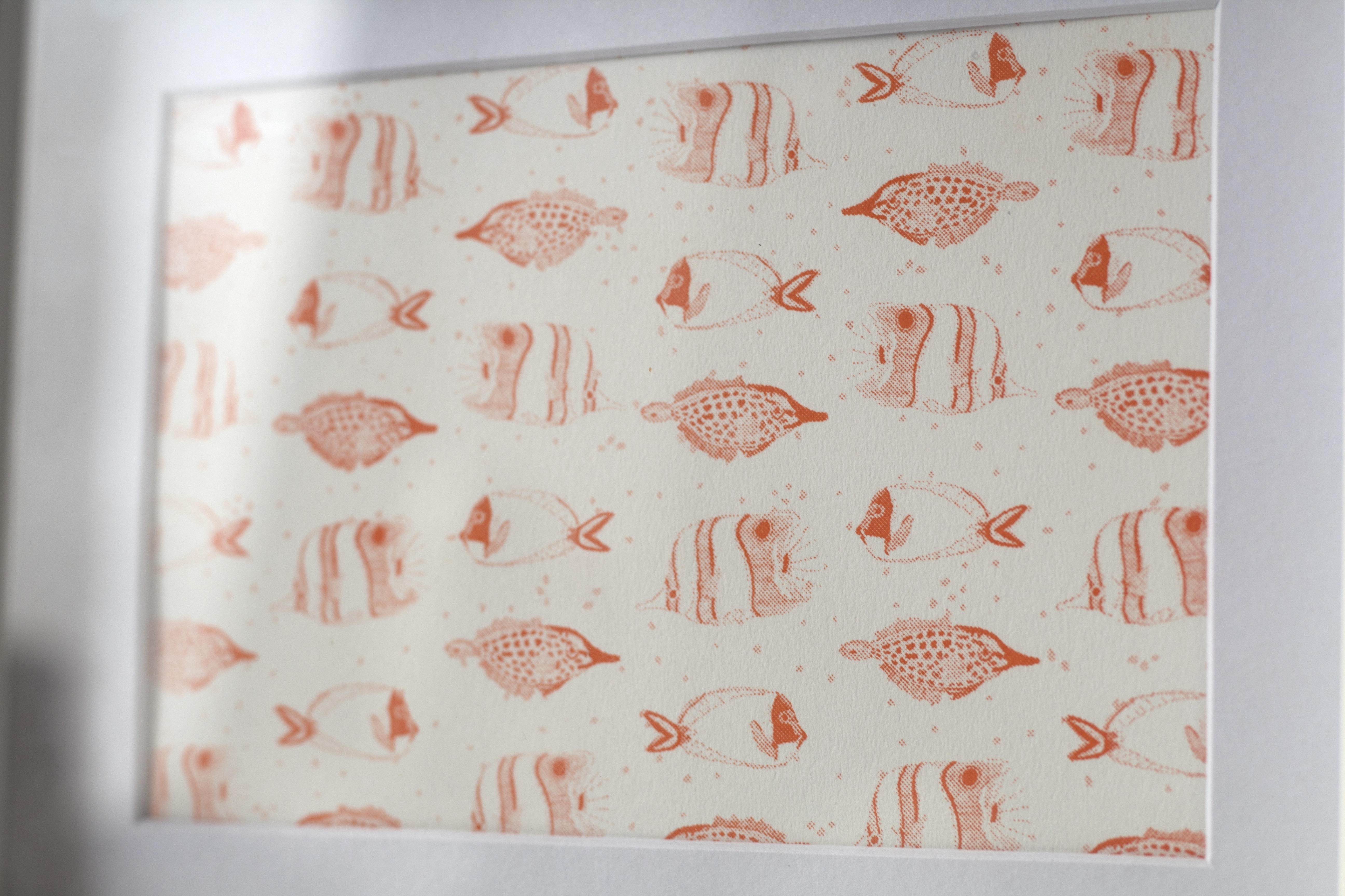 A5 RISO Coral reef - Pattern fish