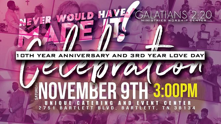Galatians 2:20 Church Anniversary (Love Day)