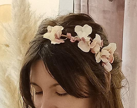Diadema Lateral Floral